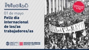 01 de mayo: Día internacional de los/as trabajadores/as