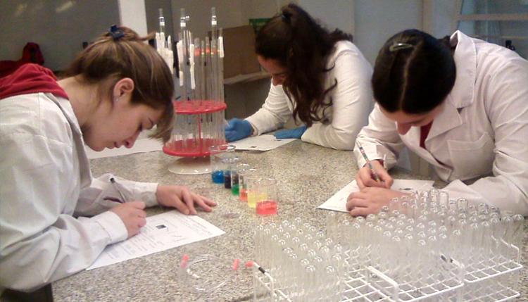 Taller de material de laboratorio: preparación de soluciones y diluciones