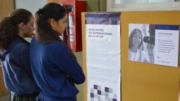Se inauguró la muestra fotográfica Mujeres Científicas de Latinoamérica, en la sede Valle de Uco