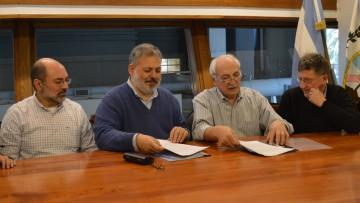 La FCEN firmó un acuerdo con la Facultad de Ciencias Físico Matemáticas y Naturales de la Universidad Nacional de San Luis