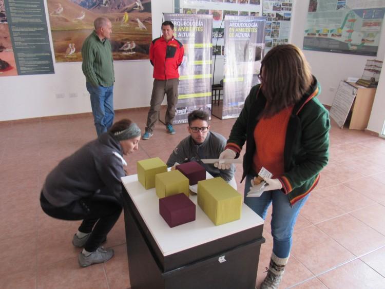 Patrimonio en ambiente de altura: muestra arqueológica