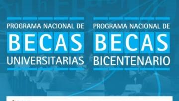 Extensión del plazo de presentación de Becas Universitarias y Bicentenario