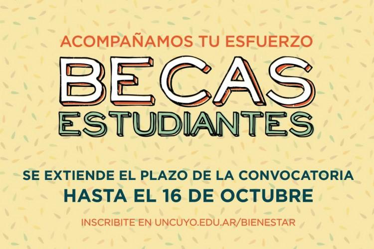 Se extiende el plazo de la convocatoria Becas Estudiantes 2019