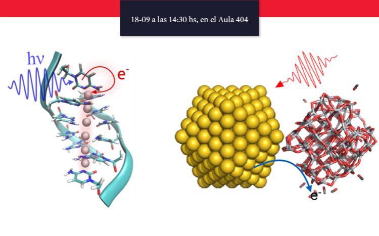 Charla Científica: Relajación ultra-rápida de plasmones y excitones en  nanosistemas