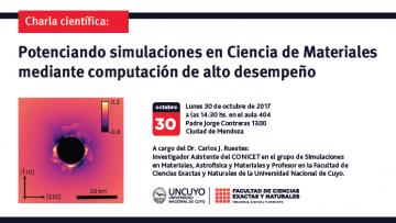 Charla científica: Potenciando simulaciones en Ciencia de Materiales mediante computación de alto desempeño