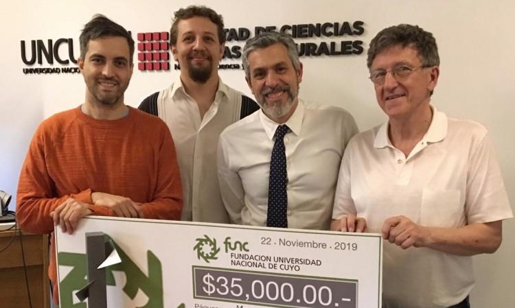 Equipo de trabajo del clúster informático obtiene primer lugar en premios otorgados por la FUNC