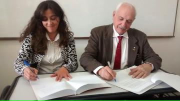 La Facultad firmó un acuerdo específico con la Dirección General de Escuelas de la Provincia de Mendoza.