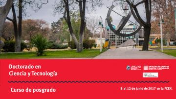 Curso de posgrado: Modelos Diferenciales Ordinarios, Parciales, Impulsivos y/o Estocásticos en Ecología de Poblaciones y Comunidades