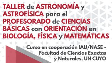 Taller de Astronomía y Astrofísica 2019