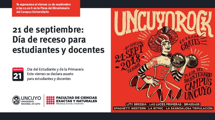 21 de septiembre: día de receso para estudiantes y docentes