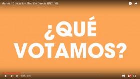 Video informativo sobre elecciones 2014
