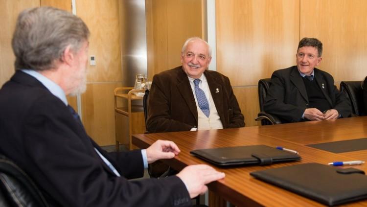 La Facultad firmó el convenio para creación de un Instituto Interdisciplinario de Ciencias Básicas (ICB) como Unidad Ejecutora de doble Dependencia UNCUYO - CONICET