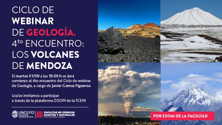 """El Ciclo de Webinarios de Geología cierra con la charla """"Los volcanes de Mendoza"""""""