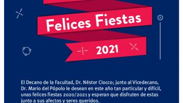 Felices Fiestas 2020 - 2021