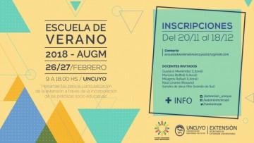 Preinscripciones para la Escuela de Verano 2018 AUGM: Herramientas para la curricularización de la Extensión a través de la incorporación de las Prácticas Socio - Educativas