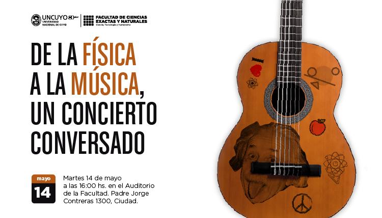 El científico y músico Alberto Rojo dará una charla en la Facultad