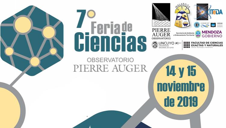 7º Feria de Ciencias del Observatorio Pierre Auger en Malargüe