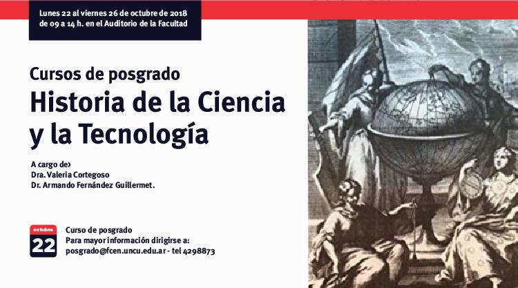 Curso de Doctorado: Historia de la Ciencia y la Tecnología