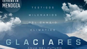 Presentación en la Nave Universitaria del documental Glaciares: agua del futuro, dirigido por Pablo Kühnert