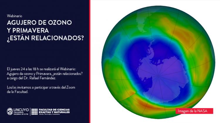 Agujero de ozono y Primavera, ¿están relacionados?