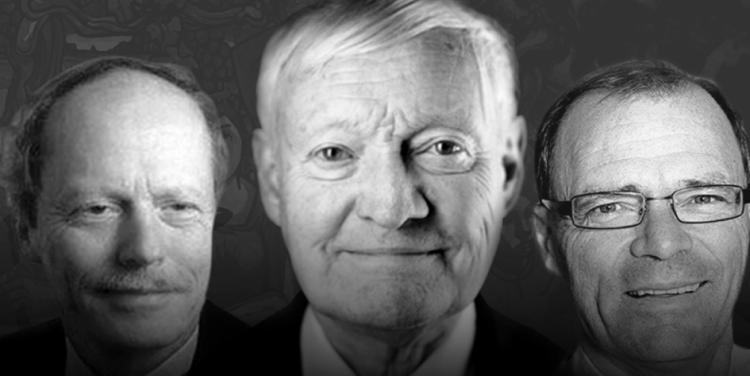 Entrega del Doctor Honoris Causa para Joachim Frank, Christoph Borner y Roland Heinrich Mertelsmann