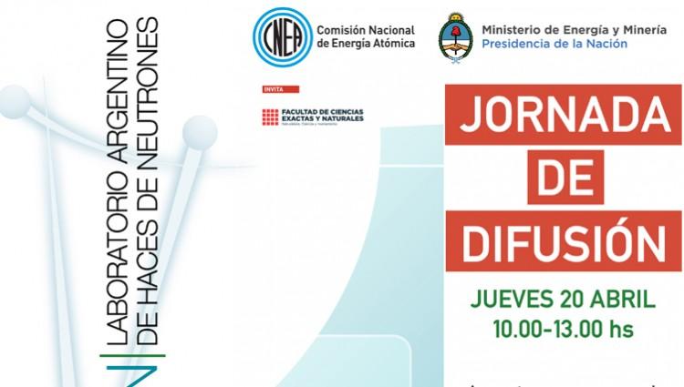 Jornada de Difusión del  Proyecto Laboratorio Argentino de Haces de Neutrones