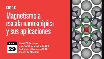 Charla: Magnetismo a escala nanoscópica y sus aplicaciones
