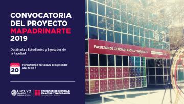 Convocatoria Proyecto MaPadrinarte 2019