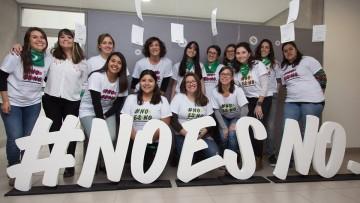 Campaña No es No en los jardines de la Facultad: ¿cómo construimos una educación no sexista en la Universidad?