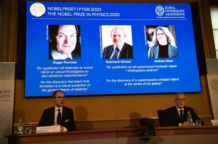 Nobel de Física 2020 para investigaciones en agujeros negros