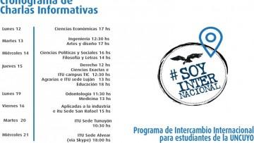 Visita a las Facultades por el Programa de Intercambio Internacional!