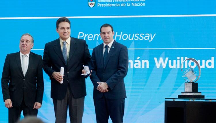 Entregaron el Premio Houssay al Dr. Rodolfo Wuilloud, docente e investigador de la Facultad