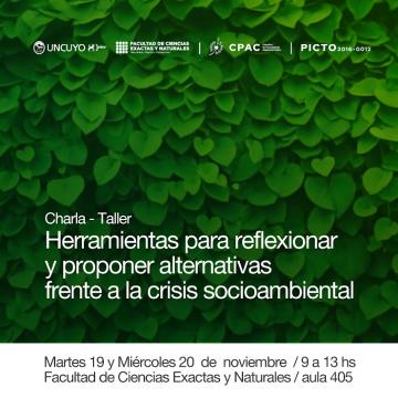 Taller: Herramientas para reflexionar y proponer alternativas frente a la crisis socioambiental