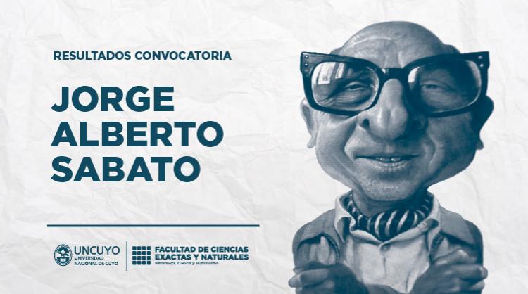 Resultados de la convocatoria de Proyectos Jorge Alberto Sabato
