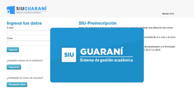 Ya se encuentra activa la nueva versión de SIU Guaraní 3.15