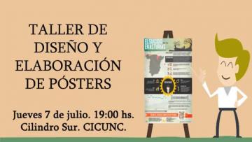 imagen que ilustra noticia Taller de diseño y elaboración de pósters científicos