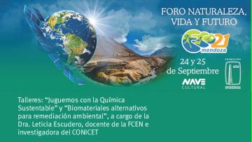 El Laboratorio de Química Analítica para Investigación y Desarrollo (QUIANID) de la Facultad participará en la ECO 21 Mendoza 2017