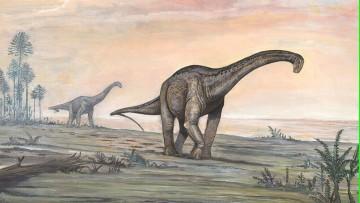 Nueva hipótesis sobre el paso de los dinosaurios gigantes