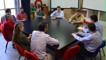 Visita de representantes de Holcim S.A. a la Facultad