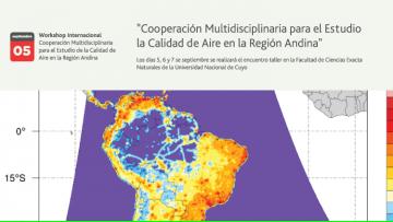 Workshop internacional: Cooperación Multidisciplinaria para el Estudio de la Calidad de Aire en la Región Andina
