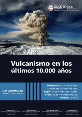 Charla: Vulcanismo en los últimos 10.000 años