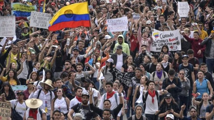 Comunicado del Consejo Directivo en relación a la situación en Colombia