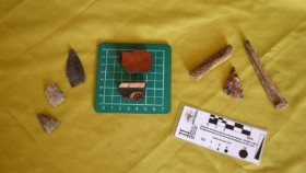 Crónica: Hallaron restos arqueológicos de otro