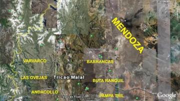 """Charla: """"Trabajos de investigación en Geología. Cuenca neuquina del sur de Mendoza"""""""