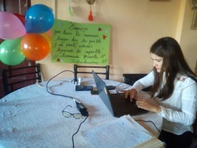 Diario Los Andes: Micaela Sosa es la primera egresada de la UNCuyo en la modalidad virtual