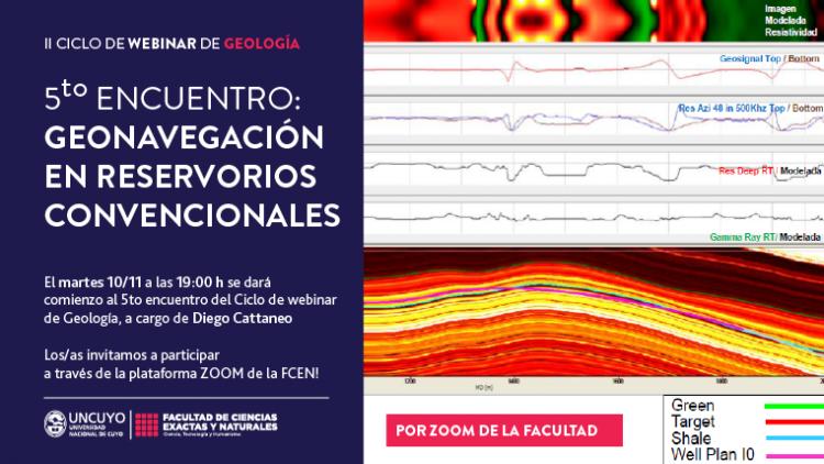 II Ciclo de webinarios de Geología: Geonavegación en Reservorios Convencionales