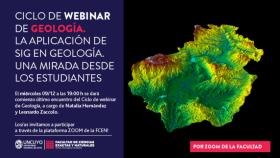 Webinario de Geología: