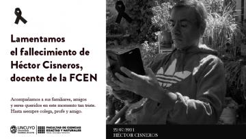 Hasta siempre querido Héctor Cisneros