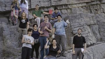 Salida a campo de estudiantes de Geología