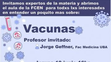 Clase abierta sobre Vacunas